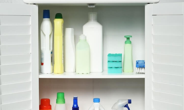 How To Organize Cleaning Supplies: Clever Storage Tips