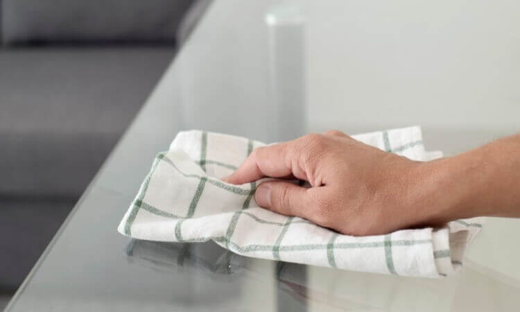 How To Prevent Dust On Glass Tables: A Dust Repellent Guide