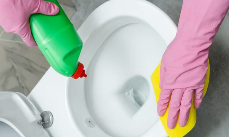 How To Use A Toilet Bowl Cleaner Best Way To Clean Toilet