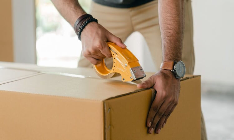 How To Use Packing Tape Dispenser
