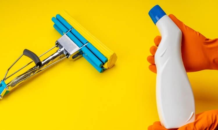 Sponge Mops For Easy Floor Scrubbing