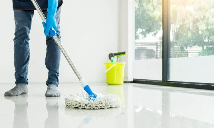 What Residue Is Being Prevented By Cleaning Floor Surfaces?